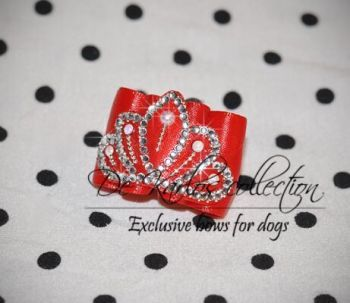 Show bows for dogs Crown 2