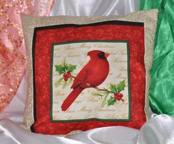 "Pillow ""Christmas bird  3"""