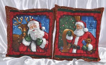"Christmas pillow set ""Santa Claus 2"""