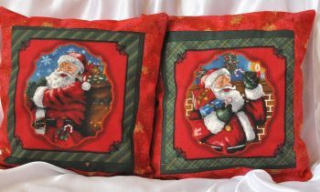 "Christmas pillow set ""Santa Claus 1"""