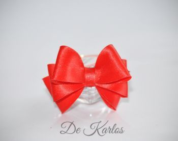 Vintage bows Red