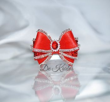 1173 Vintage Bows with zircon