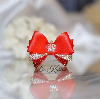 1174 Vintage Bows with Crown
