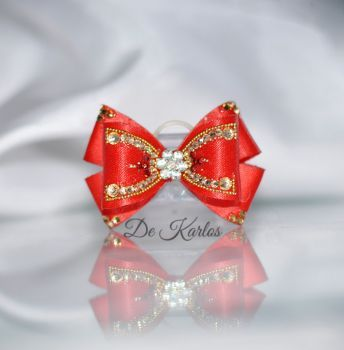 1176 Vintage Bows with gold